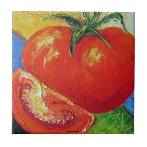 Teja roja del tomate