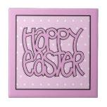 Teja rosada feliz de Pascua