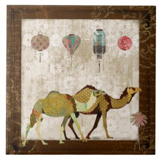 Teja soñadora de los camellos