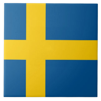 Teja sueca de la bandera