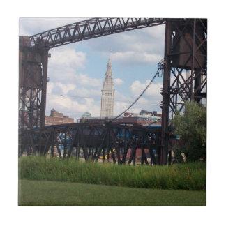Teja terminal de la torre de Cleveland (puente)