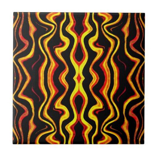 Teja tribal africana del adorno