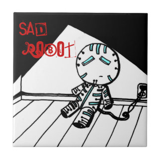 Teja triste del robot