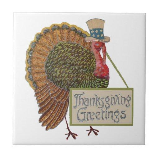 Teja Trivet de Turquía de la acción de gracias