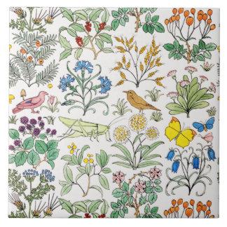 Teja Trivet del arte del jardín del boticario de V