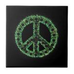 Teja verde de la paz