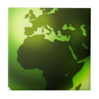 Teja verde del mundo