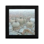 Tejado abovedado de la catedral de Venecia San Mar Caja De Recuerdo