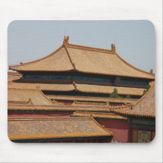 Tejado de la ciudad Prohibida Pekín. China Alfombrilla De Raton