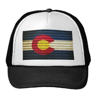 Tejado de la lata de la bandera de Colorado Gorra