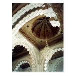 tejado de la mezquita tarjeta postal
