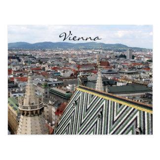 tejado de los stephens del st de Viena Postales