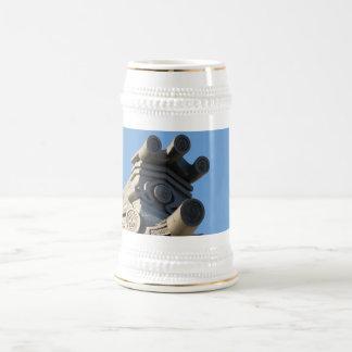 Tejado japonés jarra de cerveza