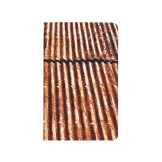 Tejado oxidado cuadernos