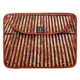 Tejado oxidado funda para macbook pro