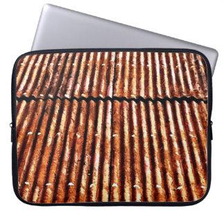 Tejado oxidado manga computadora