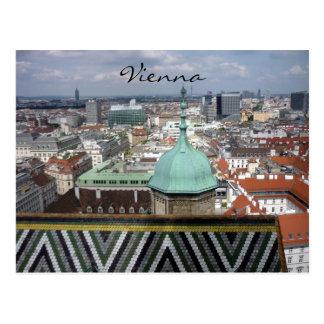 tejado Viena de los stephens del st Tarjetas Postales