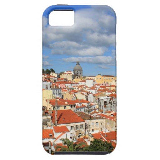 Tejados de Alfama Lisboa iPhone 5 Case-Mate Cárcasas