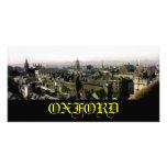 Tejados del panorama de la foto de Oxford El MUSEO Tarjeta Fotográfica