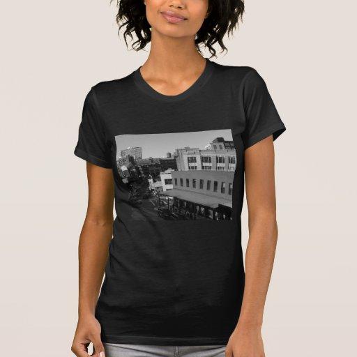 Tejados y calles del oeste, New York City del Tee Shirts