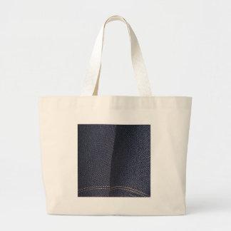 Tejano azul oscuro bolsas de mano
