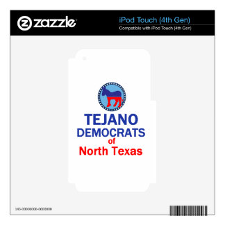 TEJANO DECAL FOR iPod TOUCH 4G