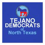 """Tejano Invitation 5.25"""" Square Invitation Card"""
