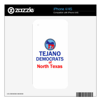 TEJANO iPhone 4 SKINS