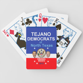 TEJANO Obama Bicycle Playing Cards