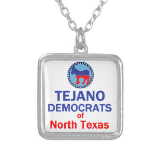 TEJANO SILVER PLATED NECKLACE