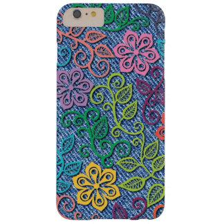 Tejanos coloridos elegantes del dril de algodón funda barely there iPhone 6 plus