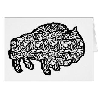 tejar-doodle bruce tarjeta de felicitación