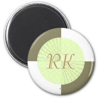 tejas a cuadros blancas del color de la imán redondo 5 cm