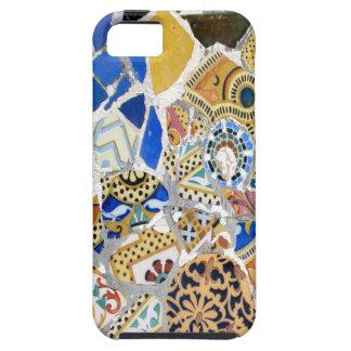Tejas amarillas de Gaudi - espejo iPhone 5 Case-Mate Protectores