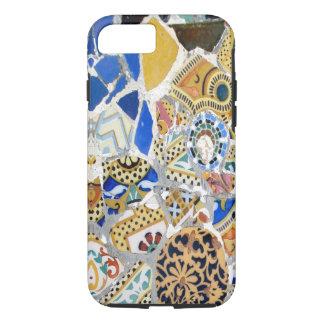 Tejas amarillas de Gaudi - espejo Funda iPhone 7