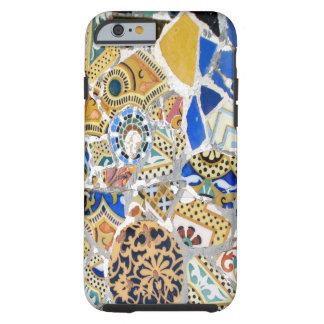 Tejas amarillas de Gaudi Funda De iPhone 6 Tough