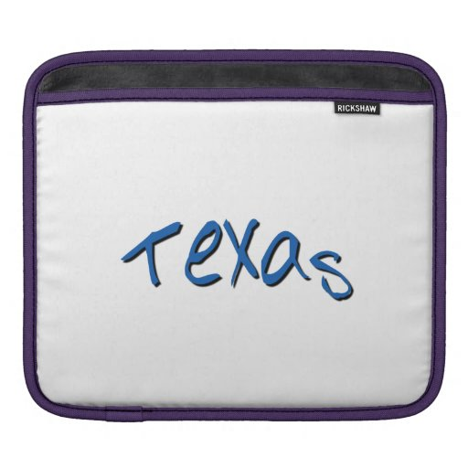Tejas azul fundas para iPads