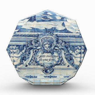 Tejas azules de Portugal