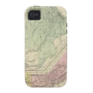 Tejas, California Vibe iPhone 4 Fundas