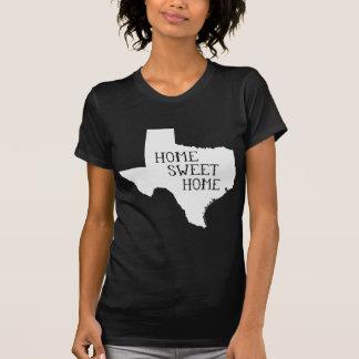 Tejas casero dulce casero camisetas