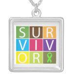 Tejas coloridas del superviviente del linfoma de N Grimpola Personalizada