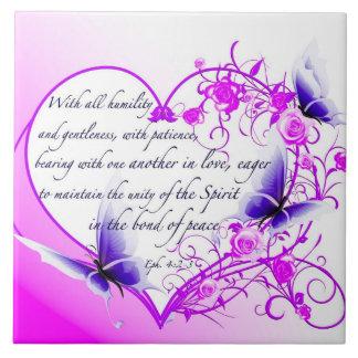 Tejas cristianas personalizadas - 4:2 de Ephesians