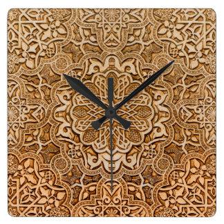 Tejas de Alhambra Reloj Cuadrado