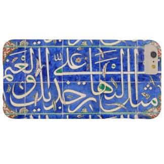 Tejas de Iznik con caligrafía islámica Funda De iPhone 6 Plus Barely There