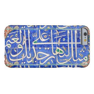 Tejas de Iznik con caligrafía islámica Funda De iPhone 6 Barely There