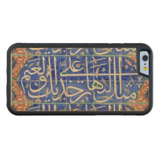 Tejas de Iznik con caligrafía islámica Funda De iPhone 6 Bumper Arce