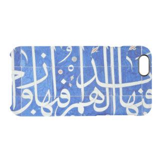 Tejas de Iznik con caligrafía islámica Funda Clearly™ Deflector Para iPhone 6 De Uncommon