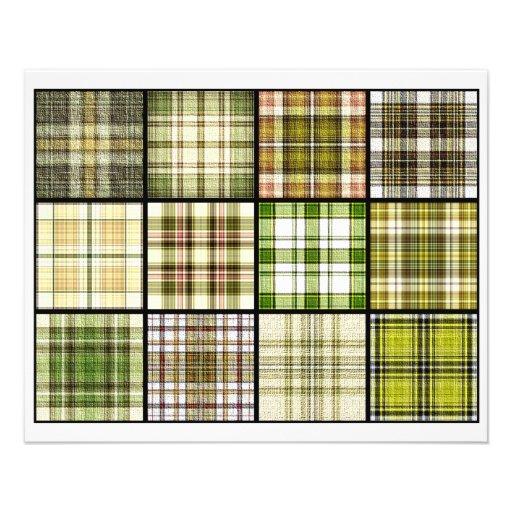 Tejas de la bolsita de té de la tela escocesa de t flyer a todo color
