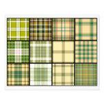 Tejas de la bolsita de té de la tela escocesa de t flyer personalizado
