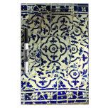 Tejas de mosaico de Guell del parque de Gaudi Barc